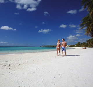 Punta Cana-Couple on beach