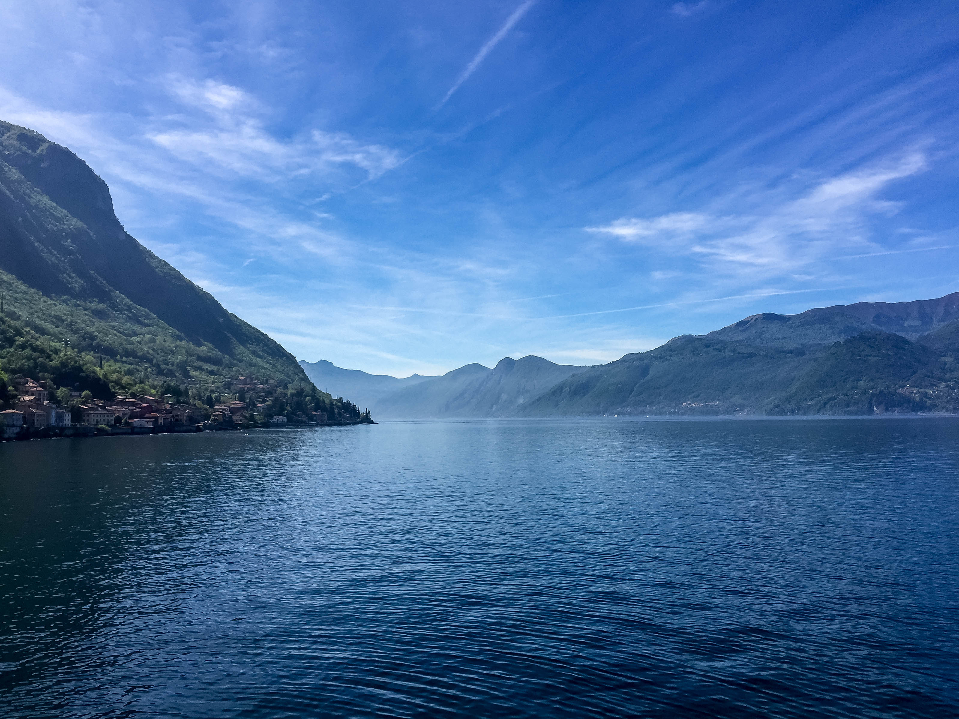 lake views varenna uninterrupted lakeview como italy airtransat experiencetransat