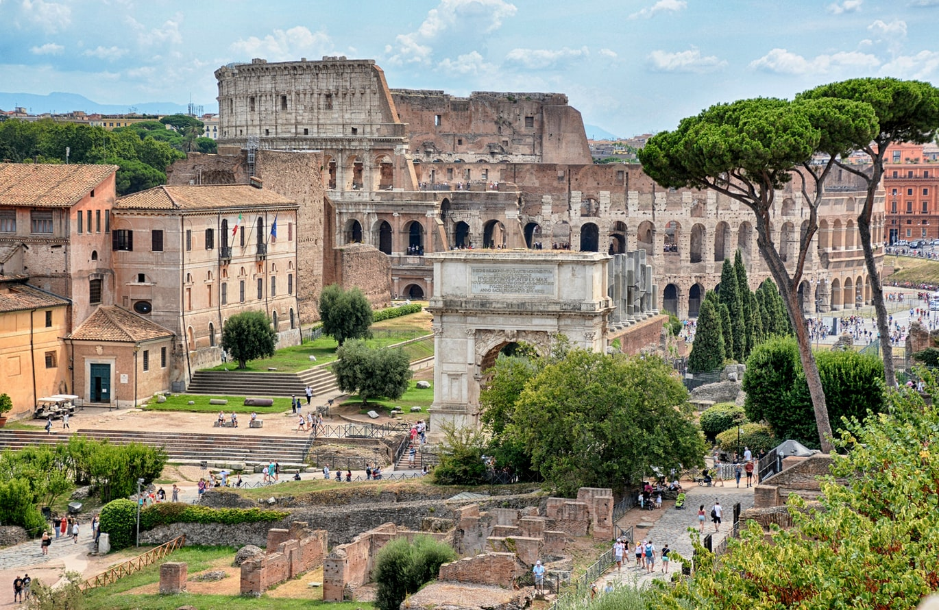 Historical Sites in Europe - Colosseum, Rome, Italy