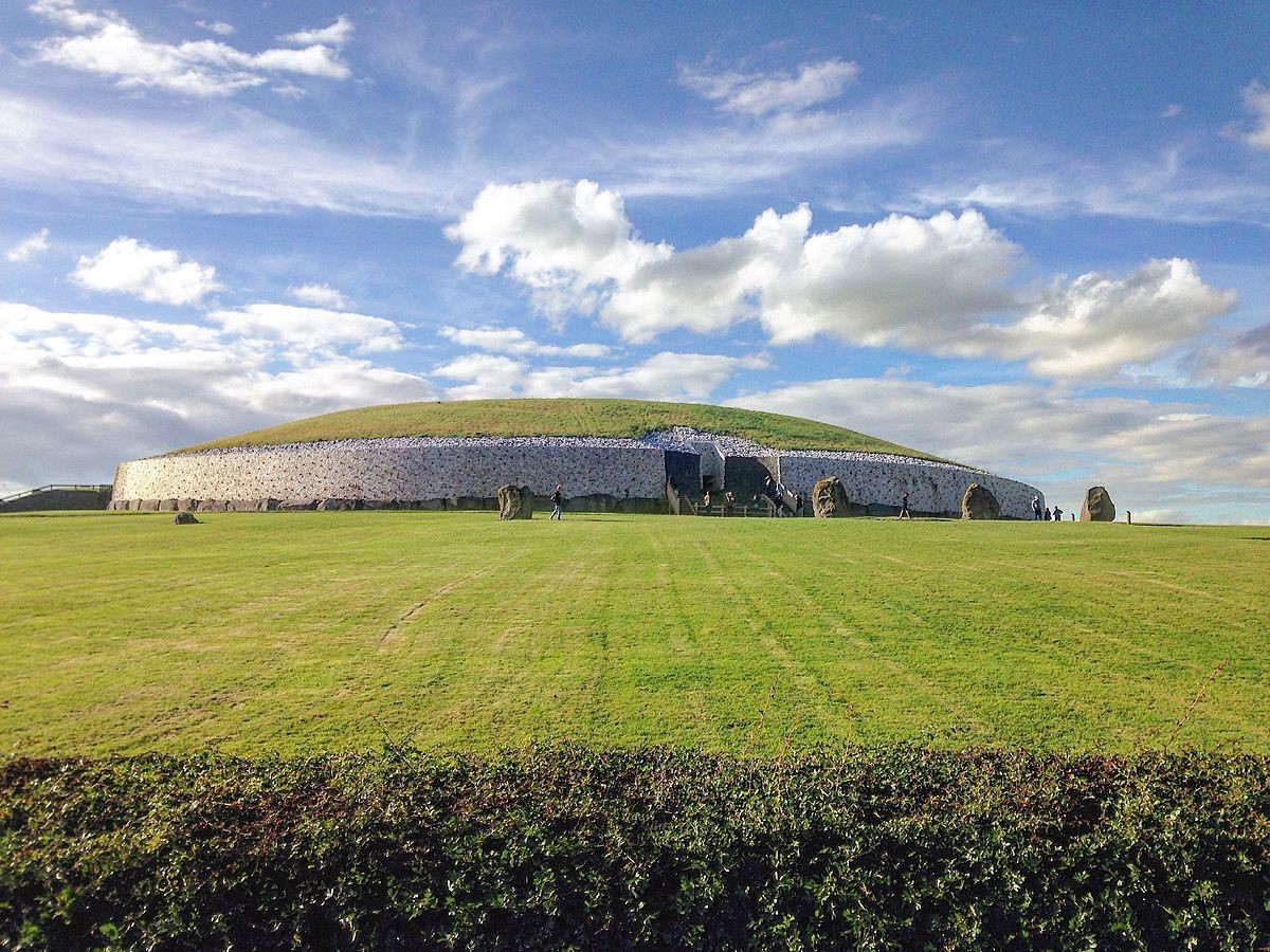 Historical Sites in Europe - Newgrange, Ireland
