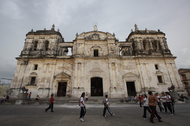 Leon Cathedral Unusual things to do in Nicaragua