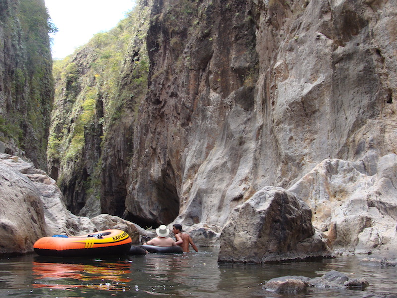 Somoto canyon Unusual things to do in Nicaragua