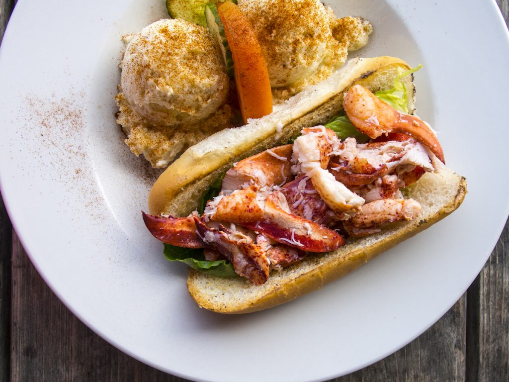 Lobster Roll Must-try foods Halifax