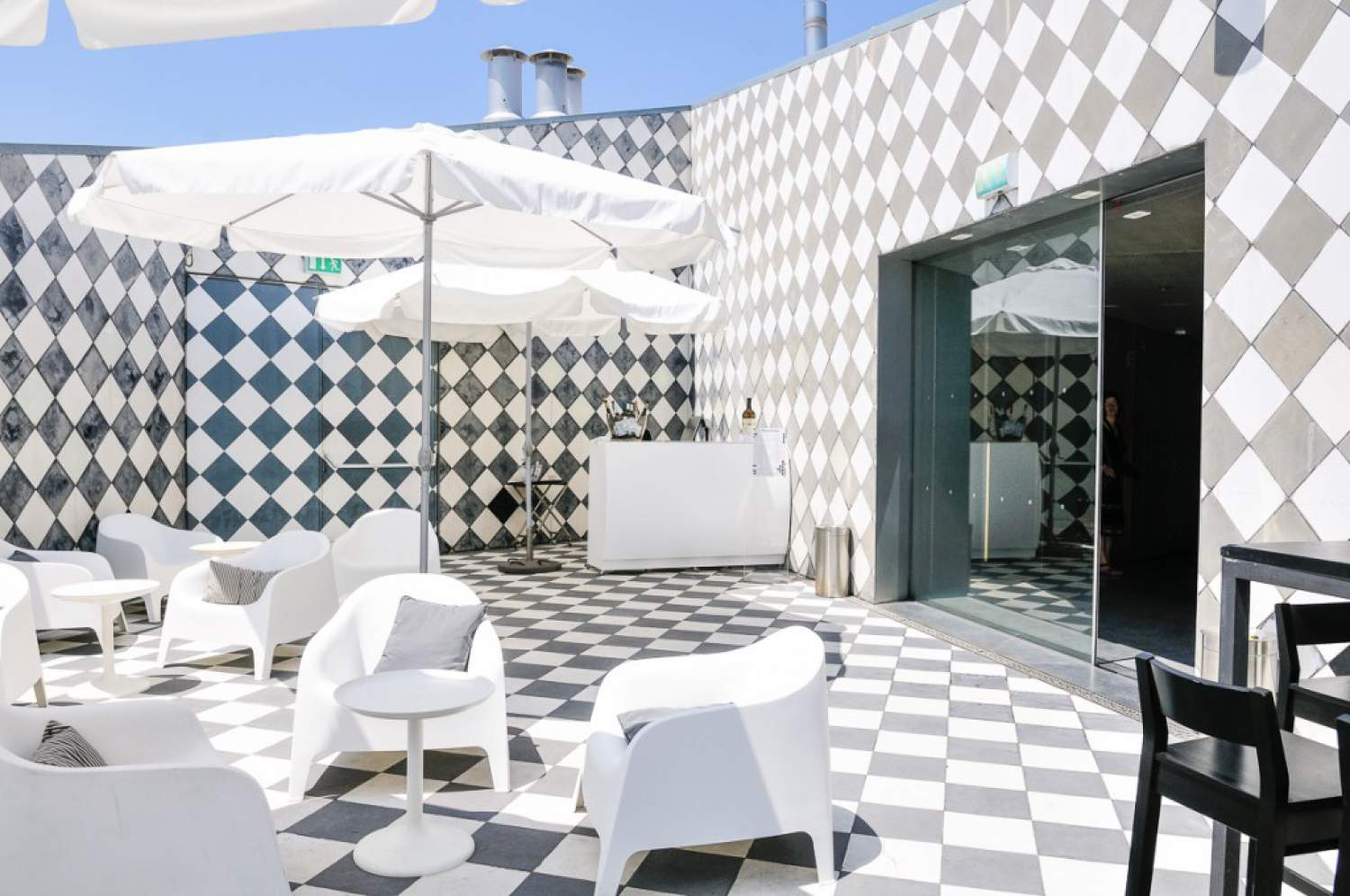 Terrasse of the Casa da Musica in Porto
