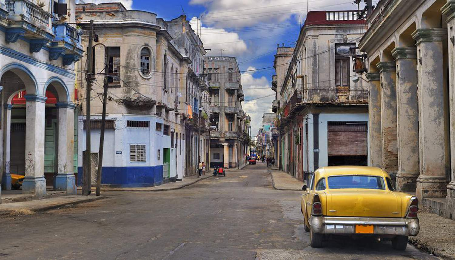 Classic Havana and its old cars