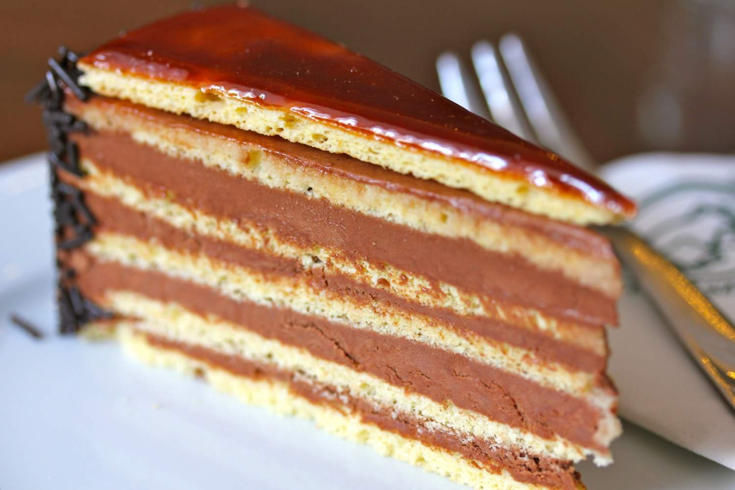 La Dobostorta the classic cake of Hungary