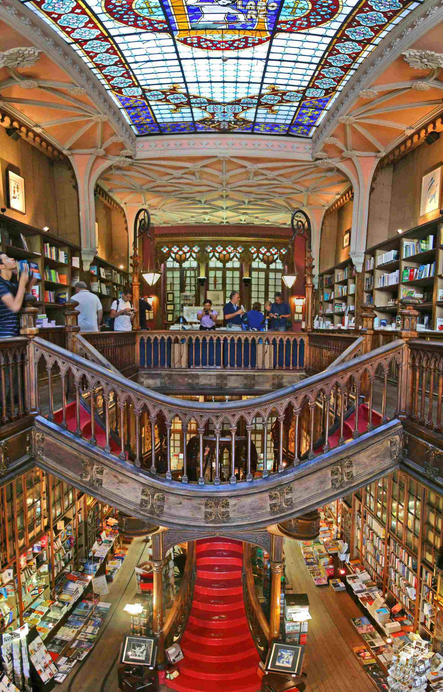 Library Lello in Porto