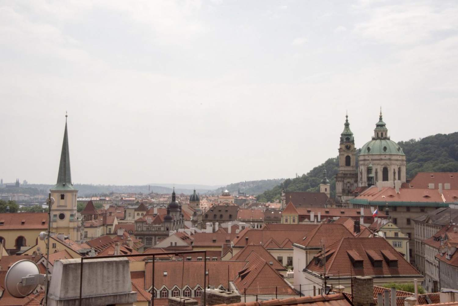 Les toits de Prague