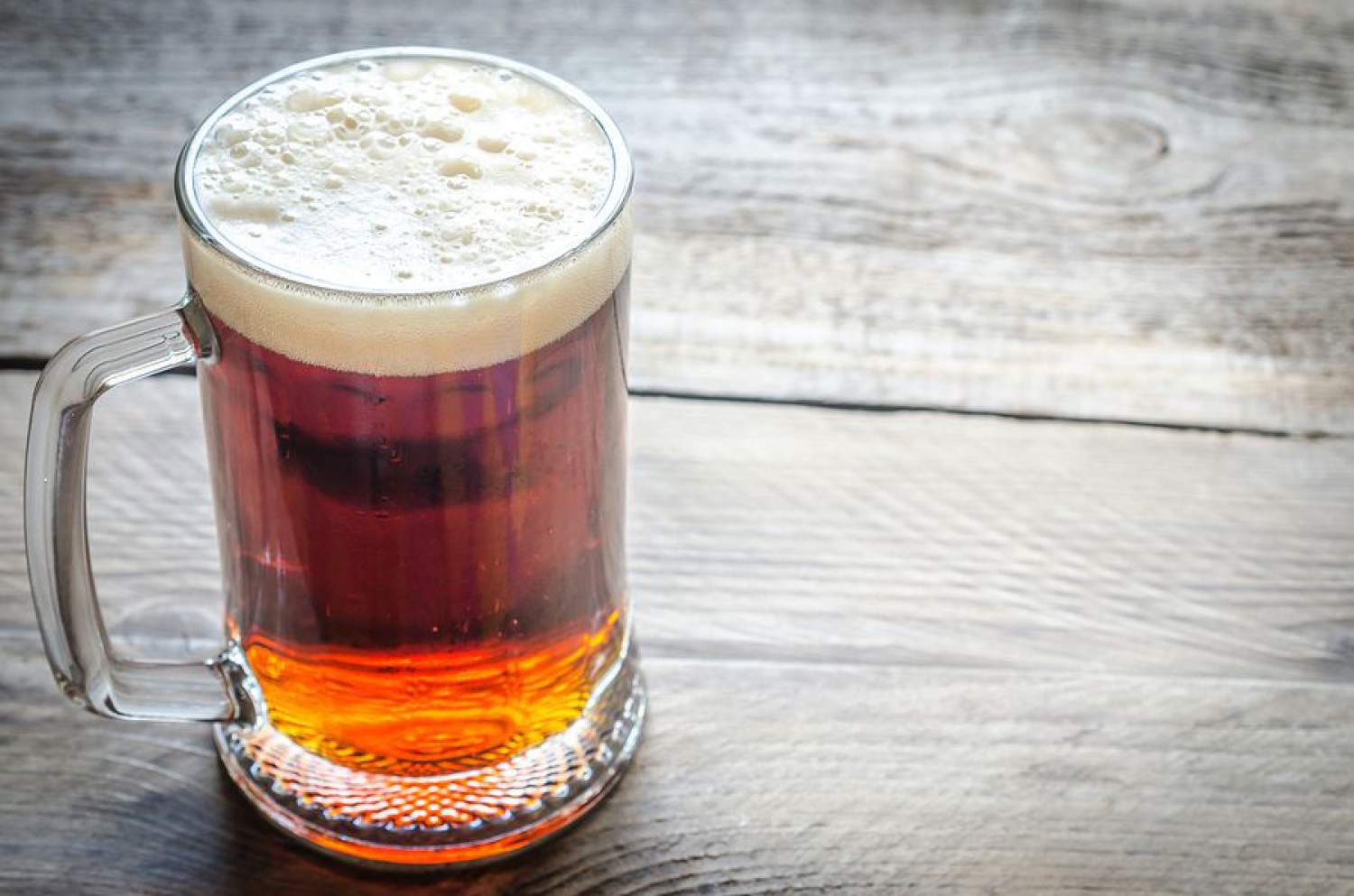A delicious red beer!