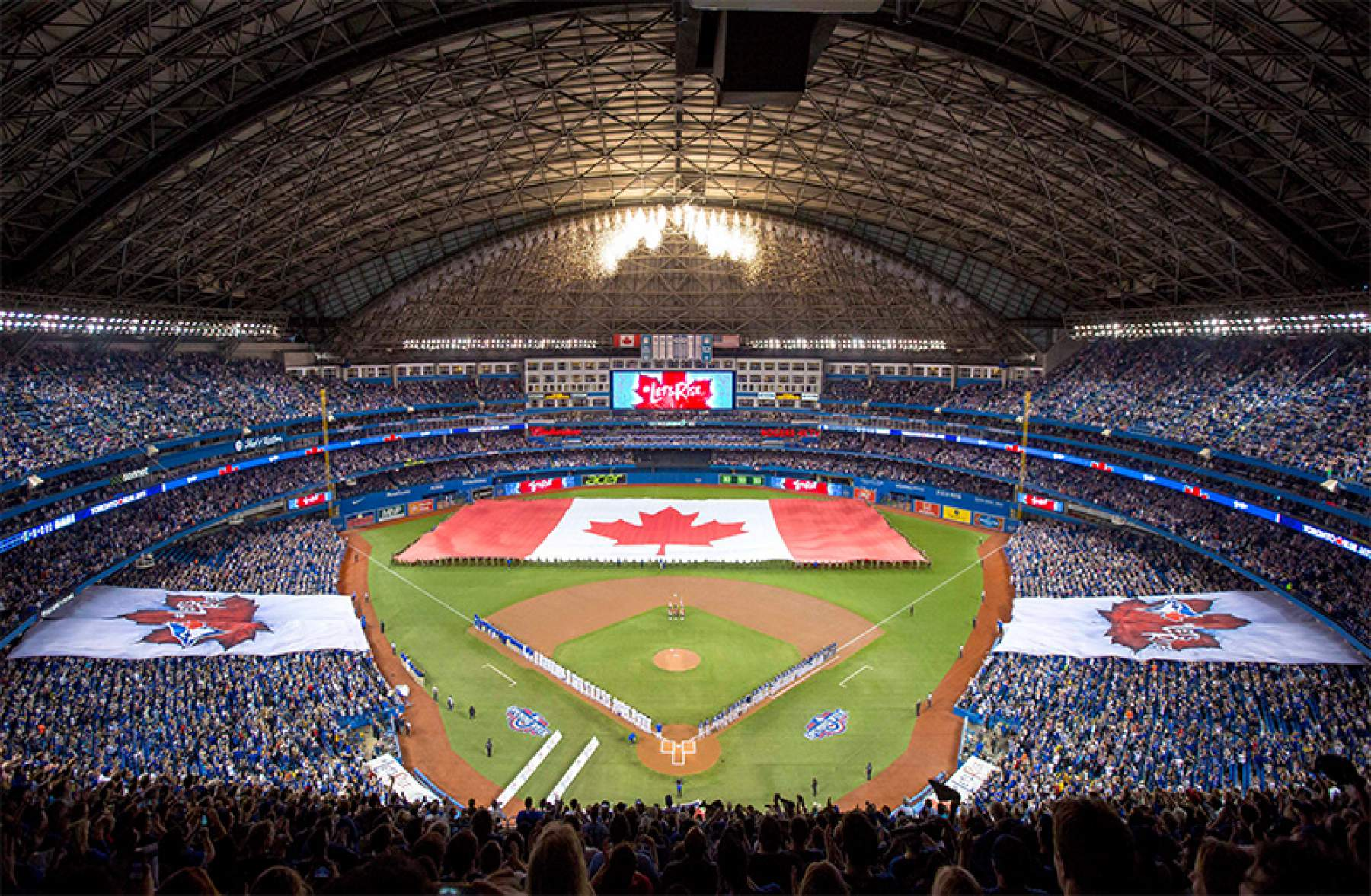 The Blue Jays at Rogers Centre in Toronto
