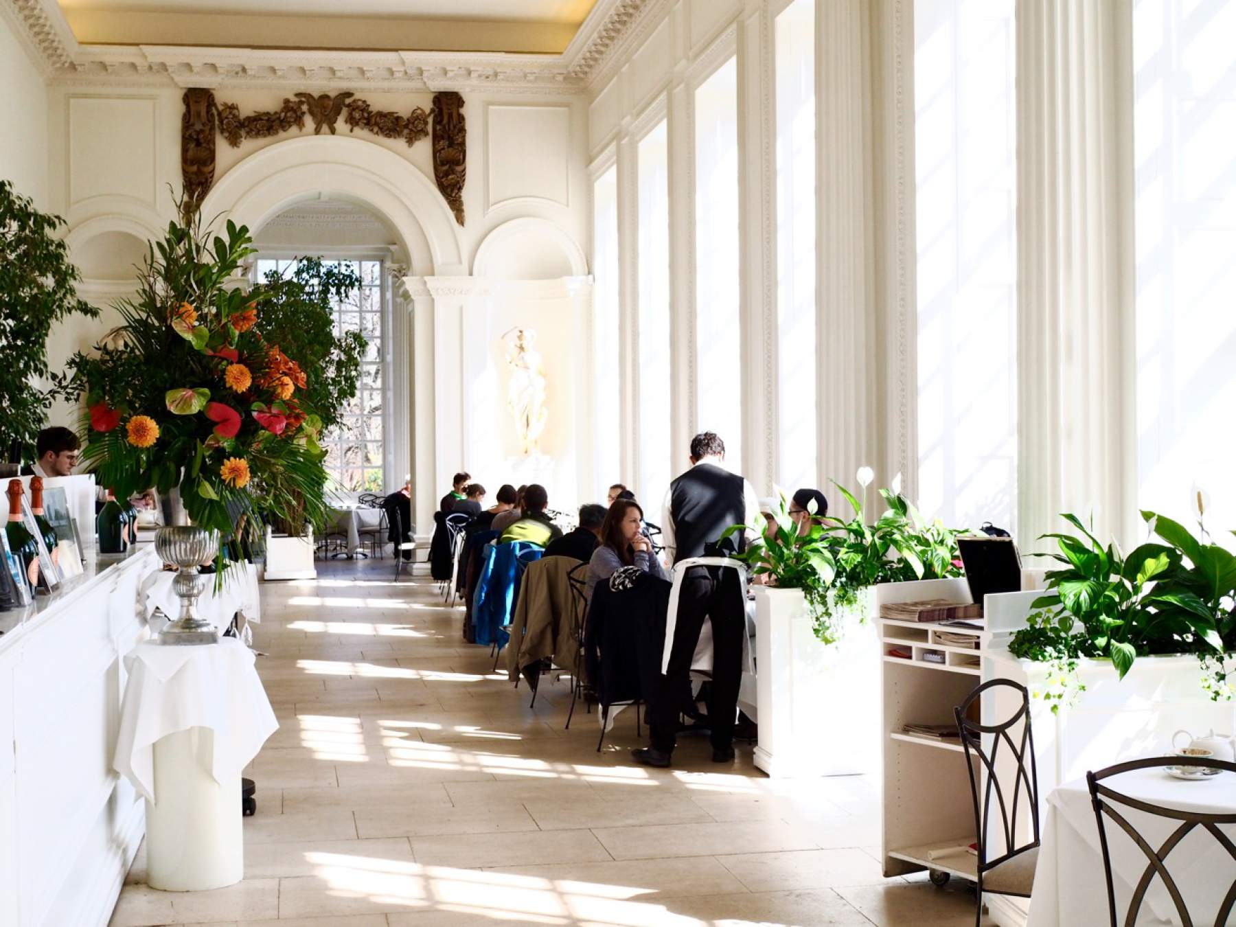 The Orangery au Palais de Kensington, Londres