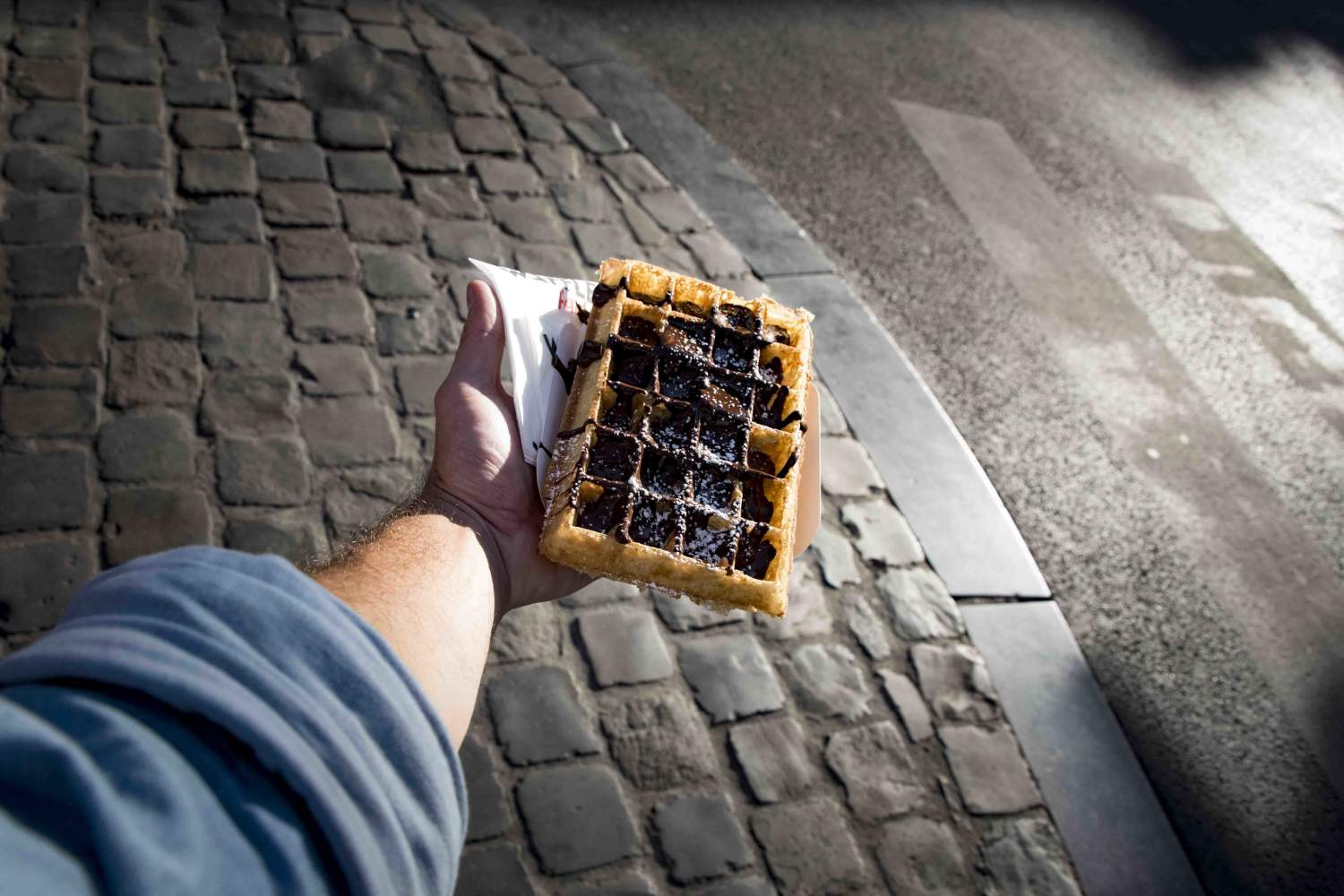 Waffle Factory in Brussels