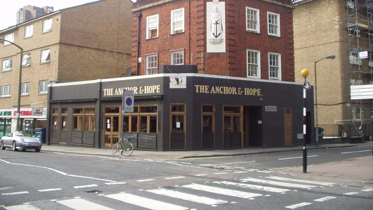 The Anchor and Hope in London, England