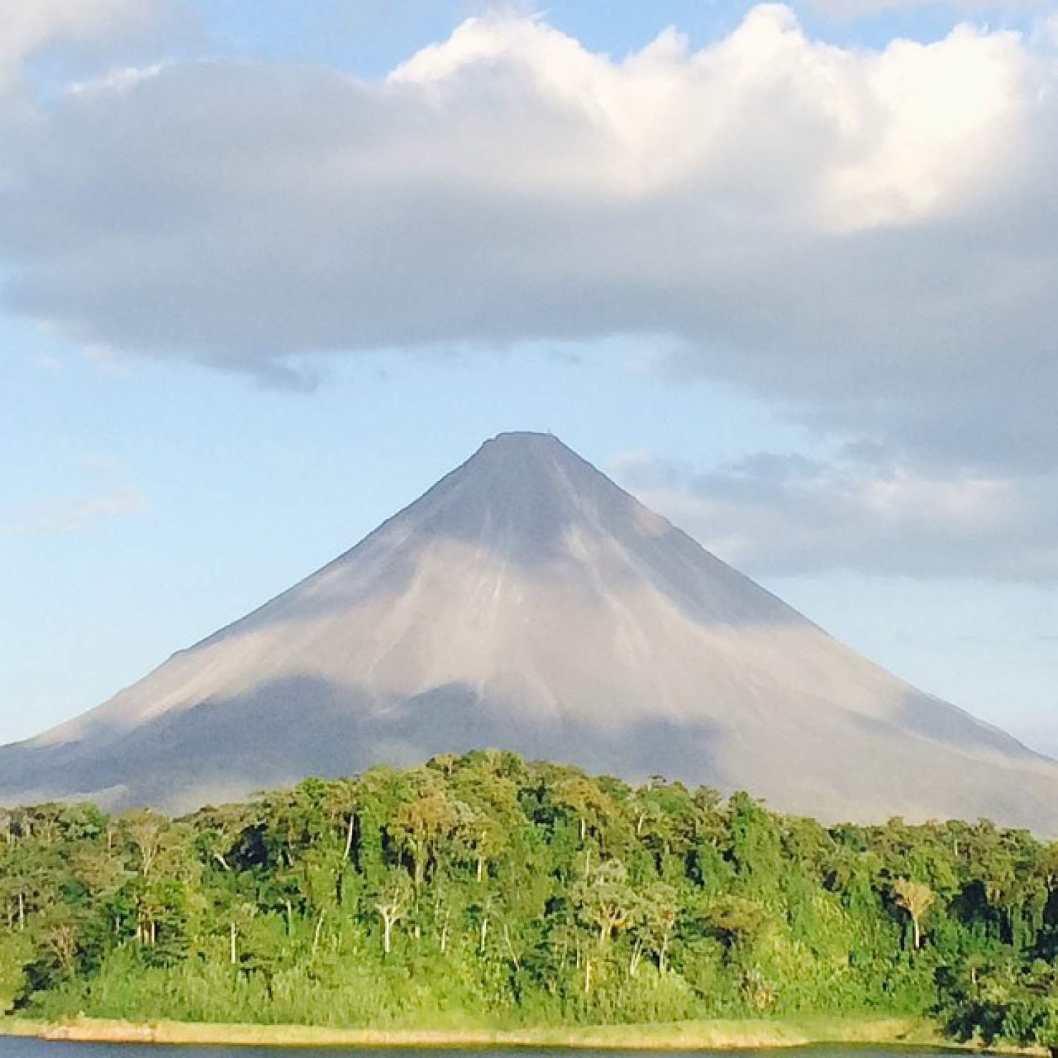 Arenal volcano, the most visited in Costa Rica