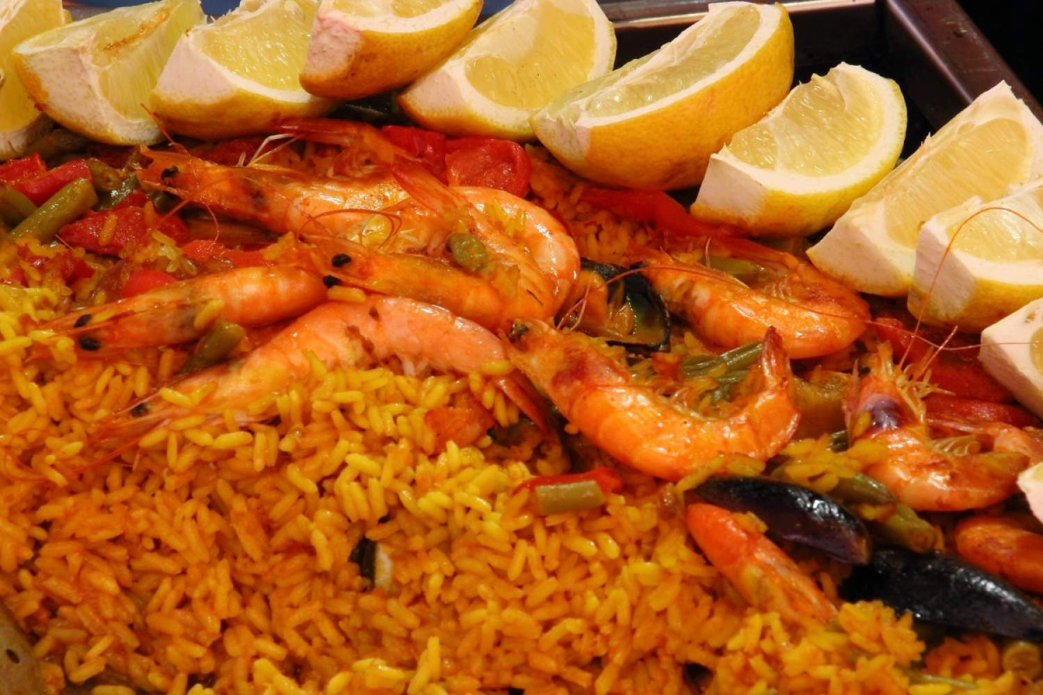 Arroz de mariscos in Lisbon, Portugal