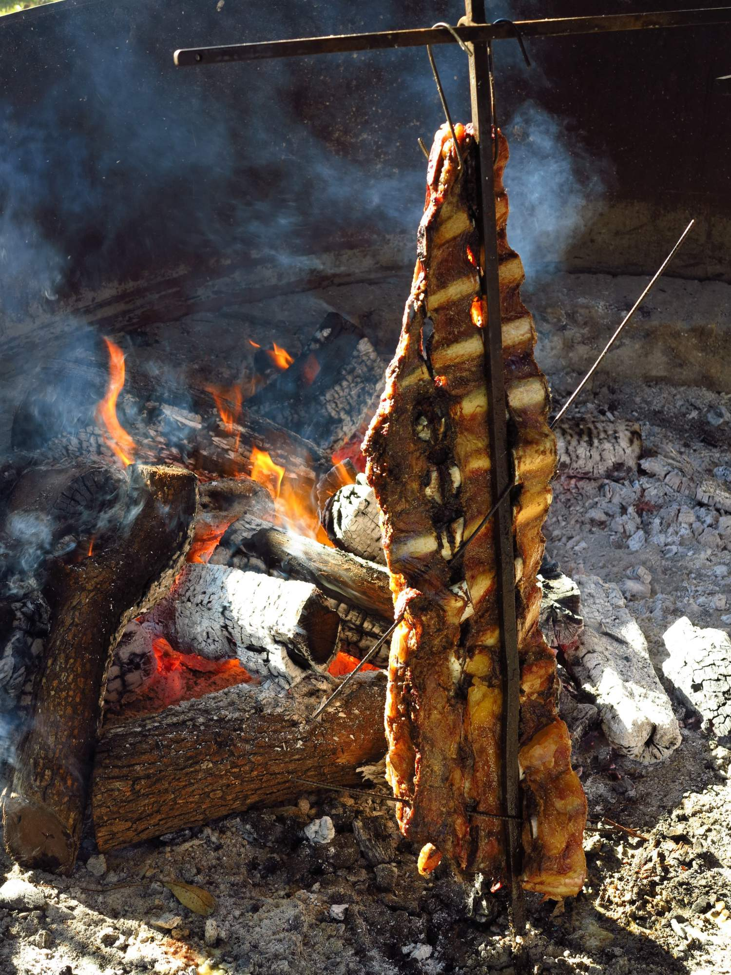 Classic Argentinian barbecue