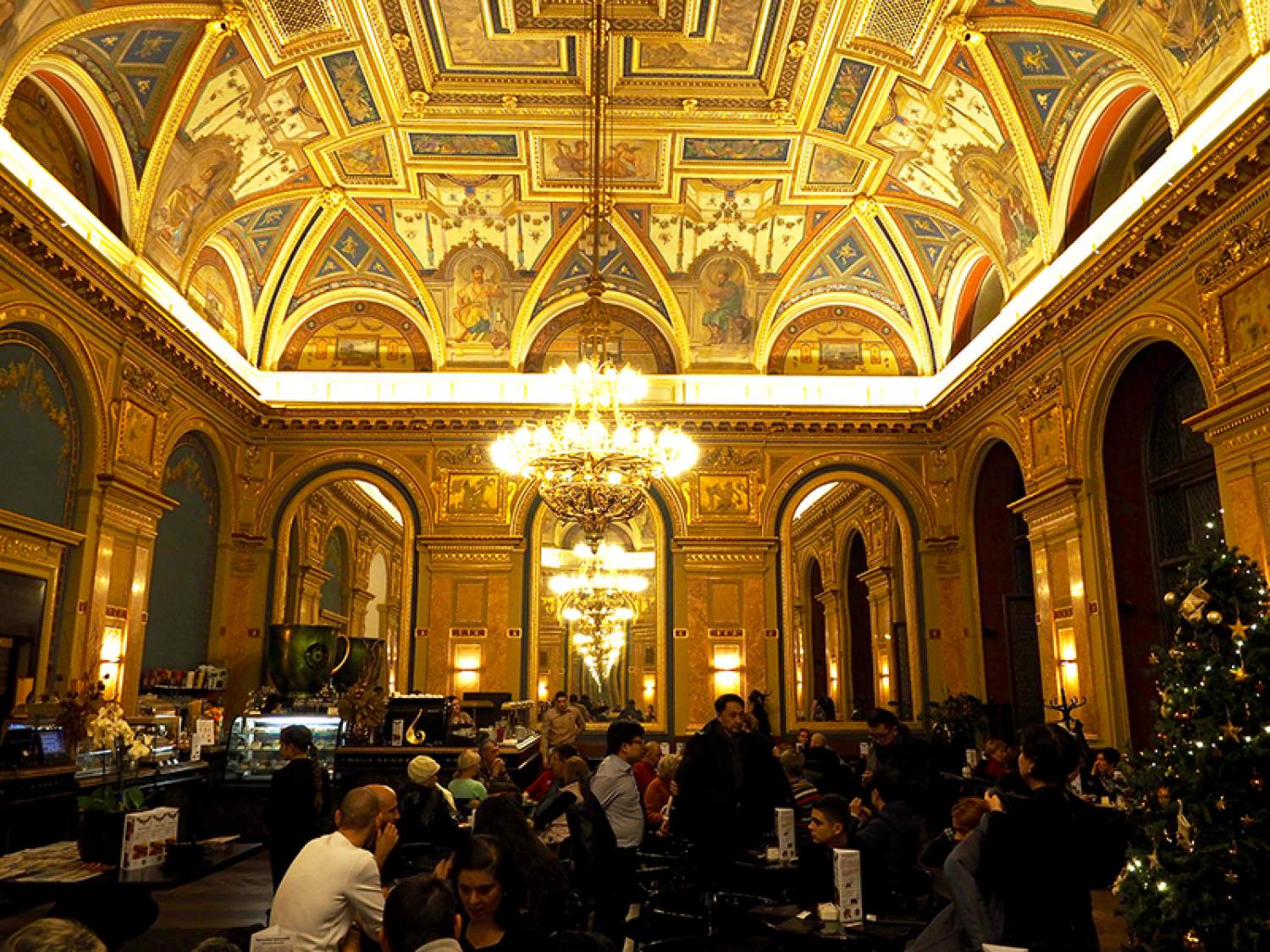 Alexandra Book Cafe in Budapest, Hungary