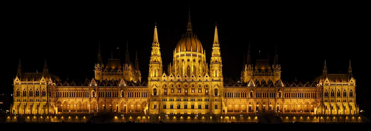 The Parlement in Budapest, Hungary