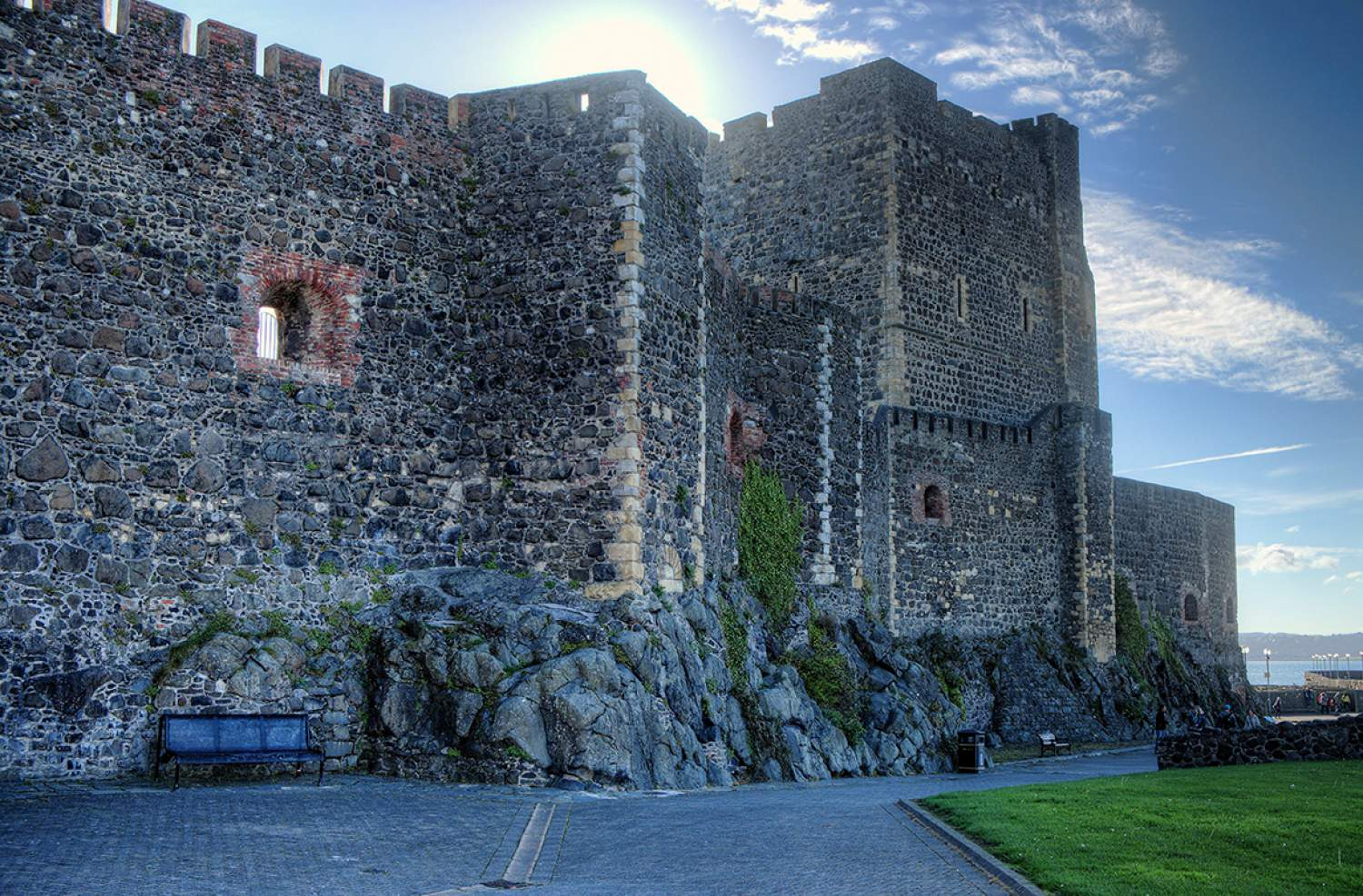 Carrickfergus Castle, north of Ireland