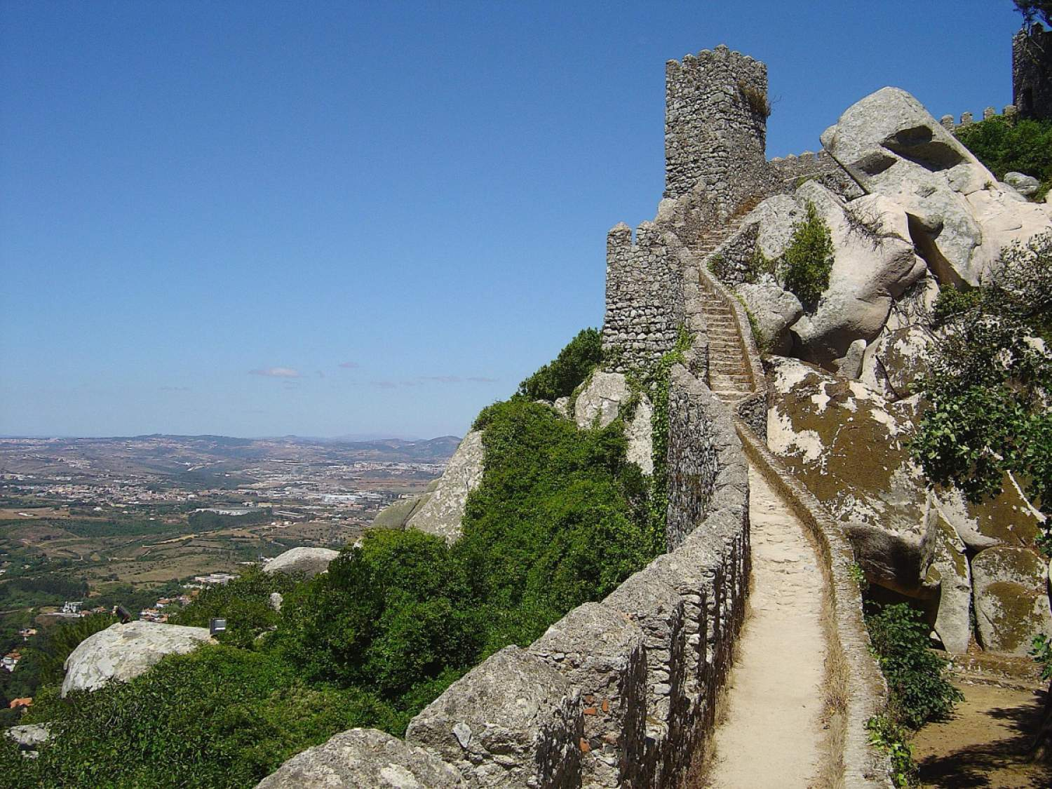 Castelo dos Mouros in Sintra, Portugal