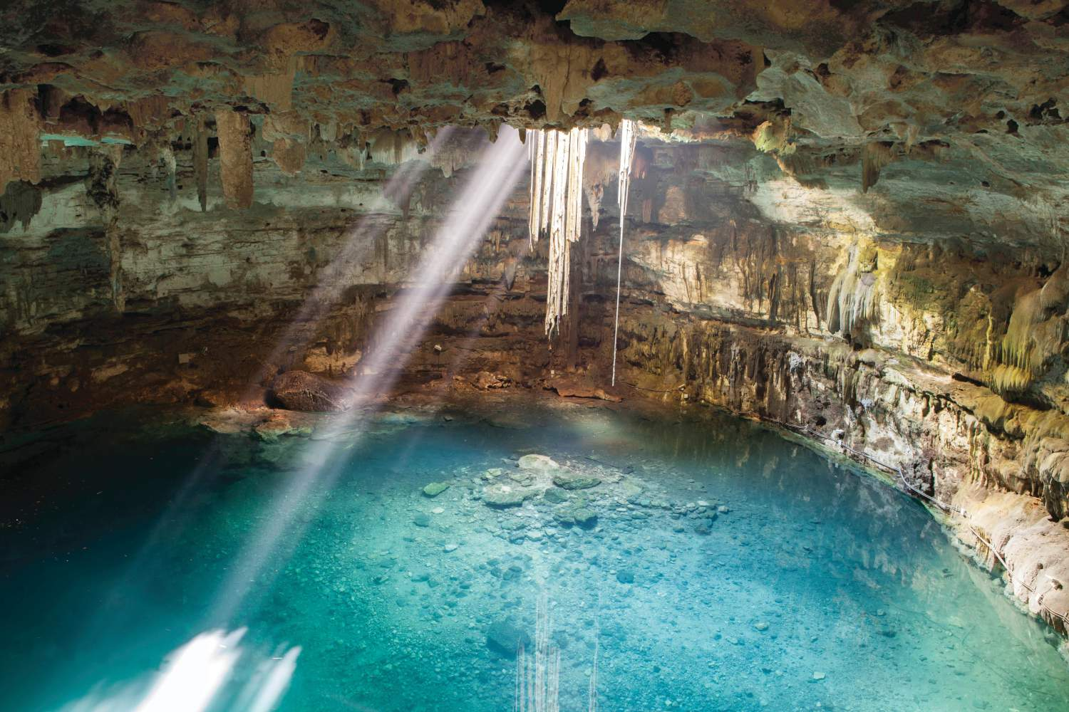 Blue Cenote in Quintana Roo