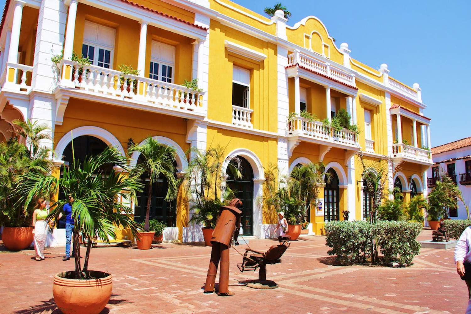 Historical Centre in Cartagena, Colombia