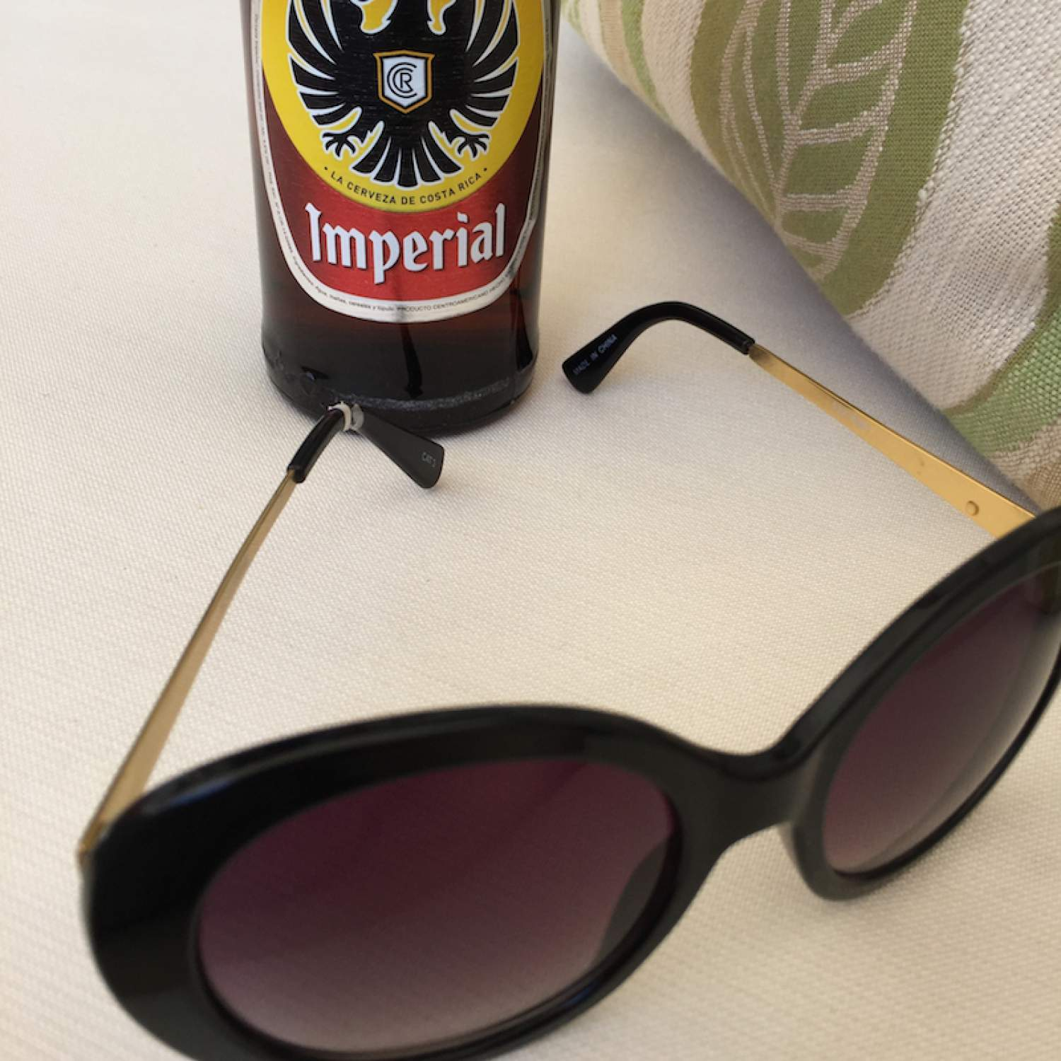 Imperial beer on vacation