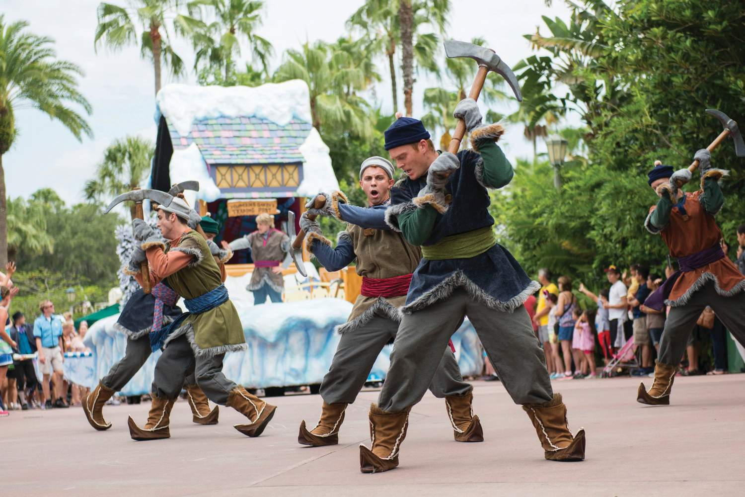 A show in every corner of Disney land