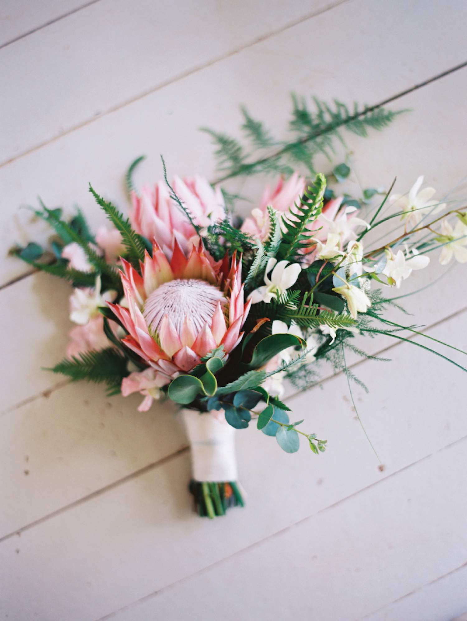 Bouquet for a beach wedding