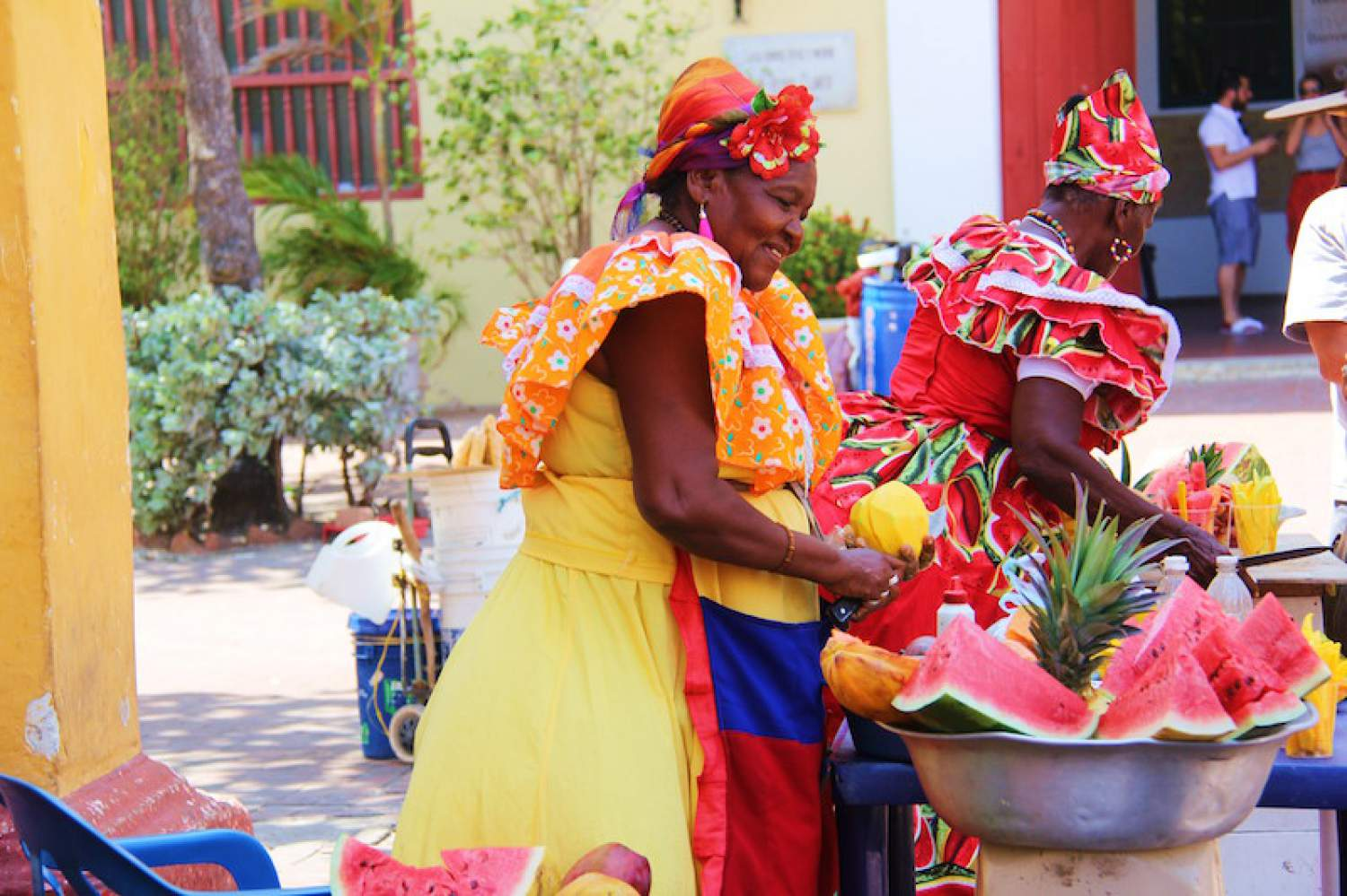 Fruit stand in Cartagena, Colombia