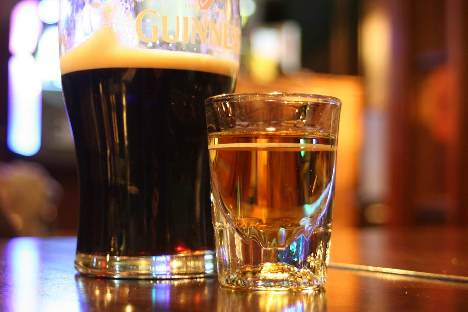 Irish Car bomb shooter, Irish classic