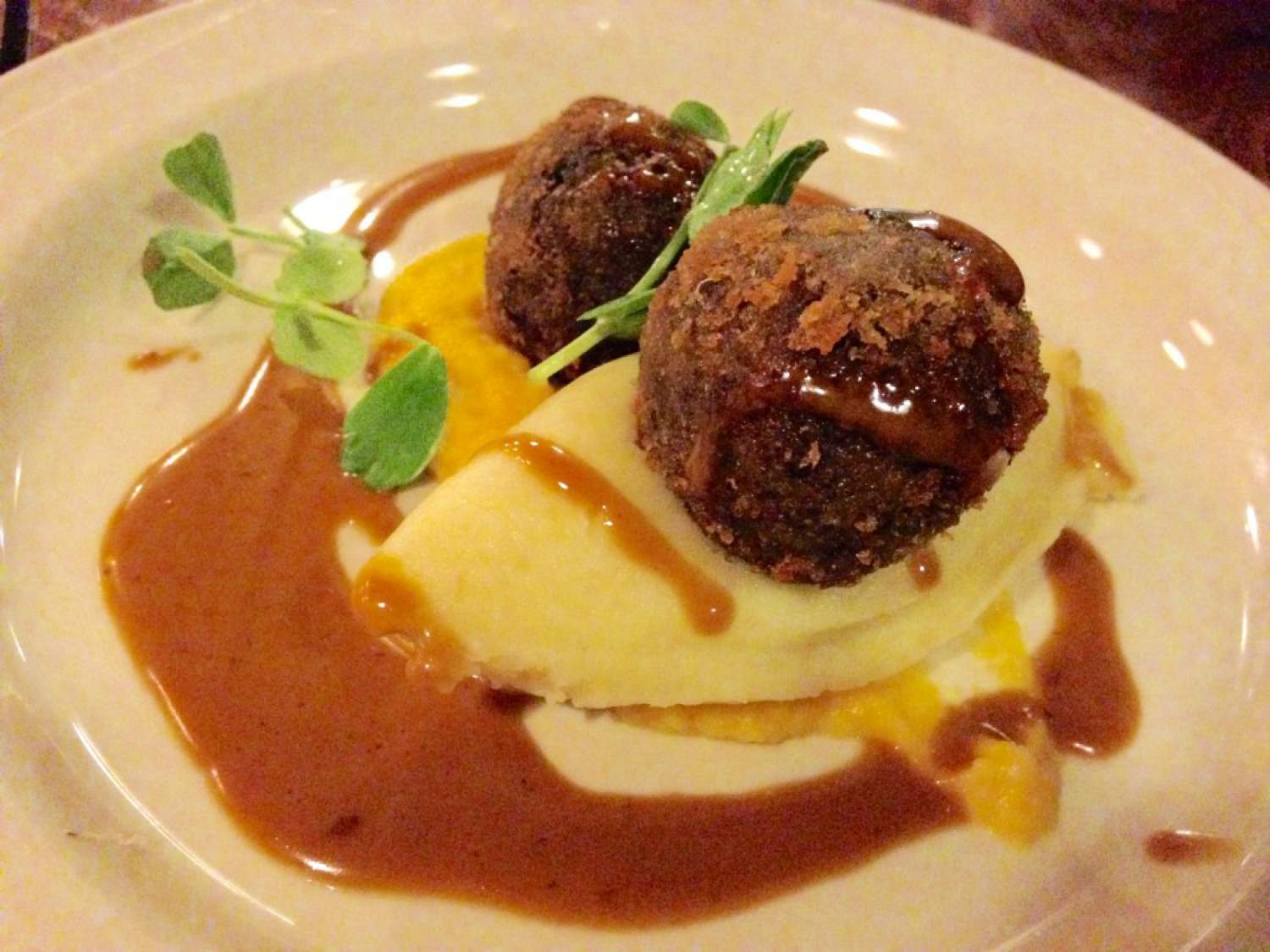 Haggis au restaurant City Merchant