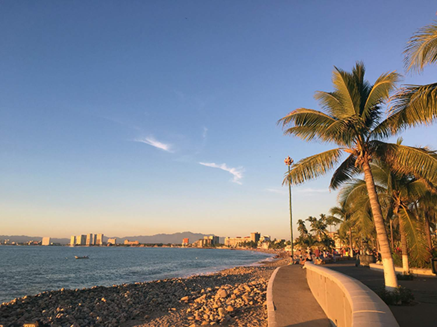 Famous Malecon of Puerto Vallarta