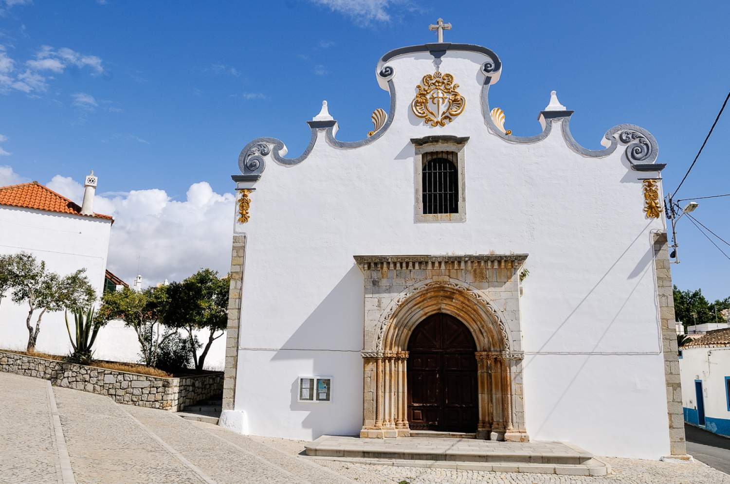 Church in Quarteira, Portugal