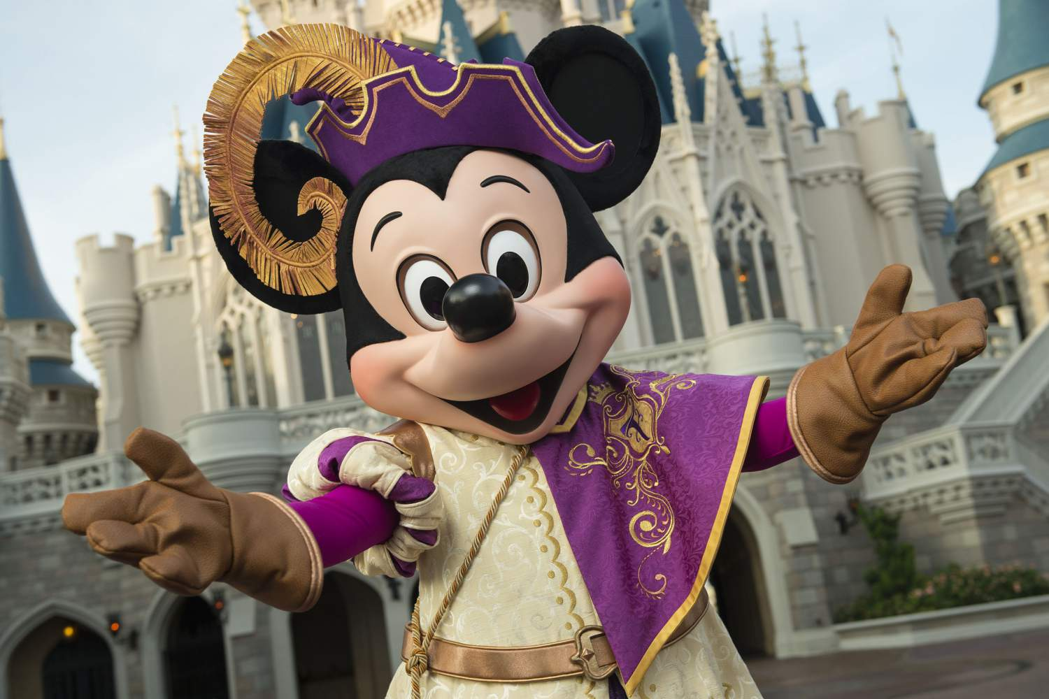 Spectacle de Mickey Mouse royal, Disney