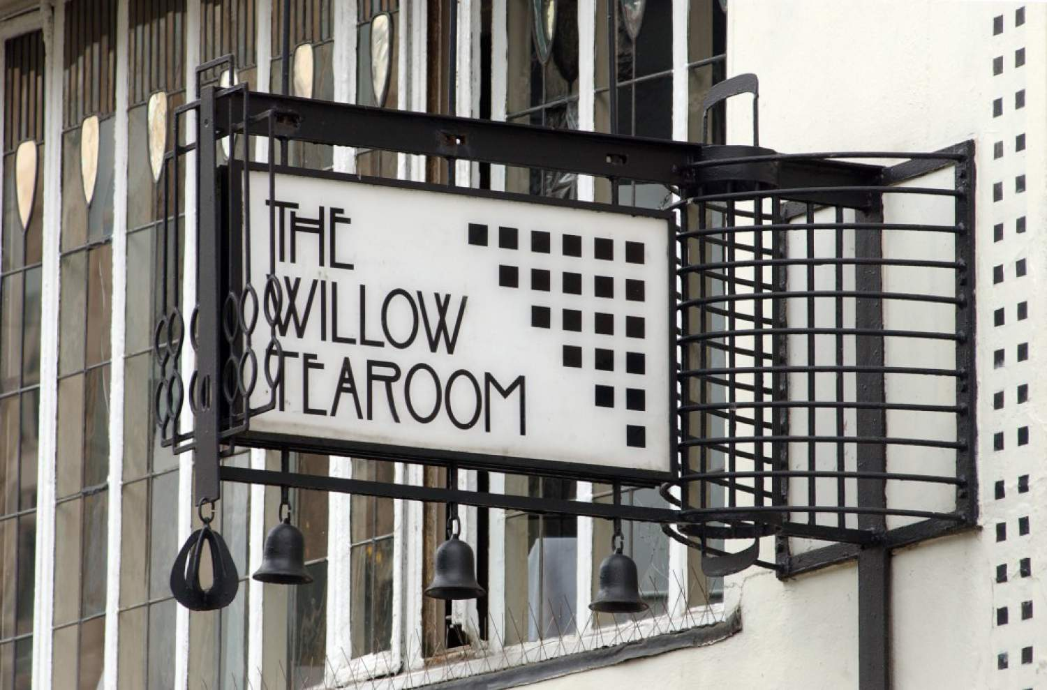 Le restaurant Willow Tearoom à Glasgow, Écosse