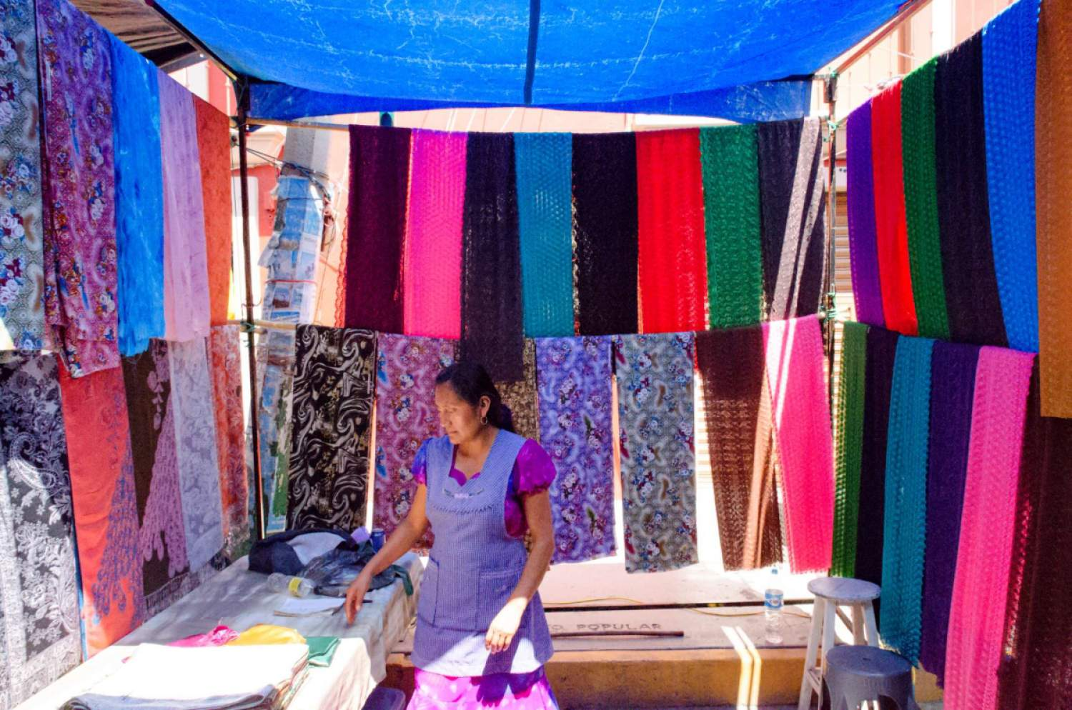 The market of Tlacolula de Matamoros, Oaxaca