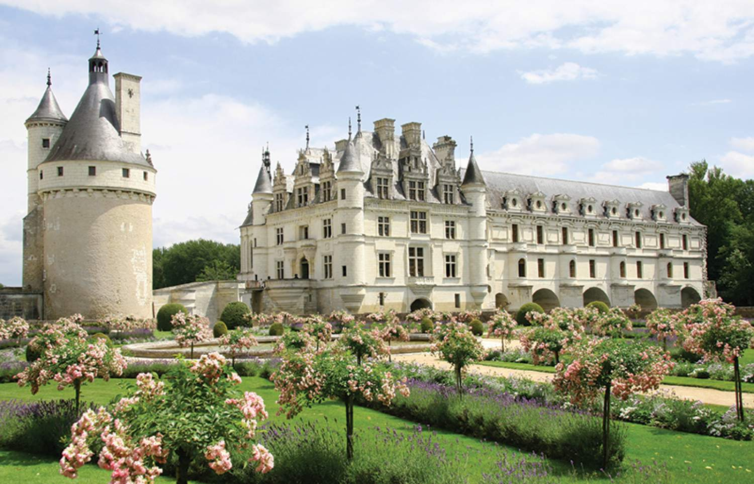 Castels in the Loire Valley - UNESCO heritage