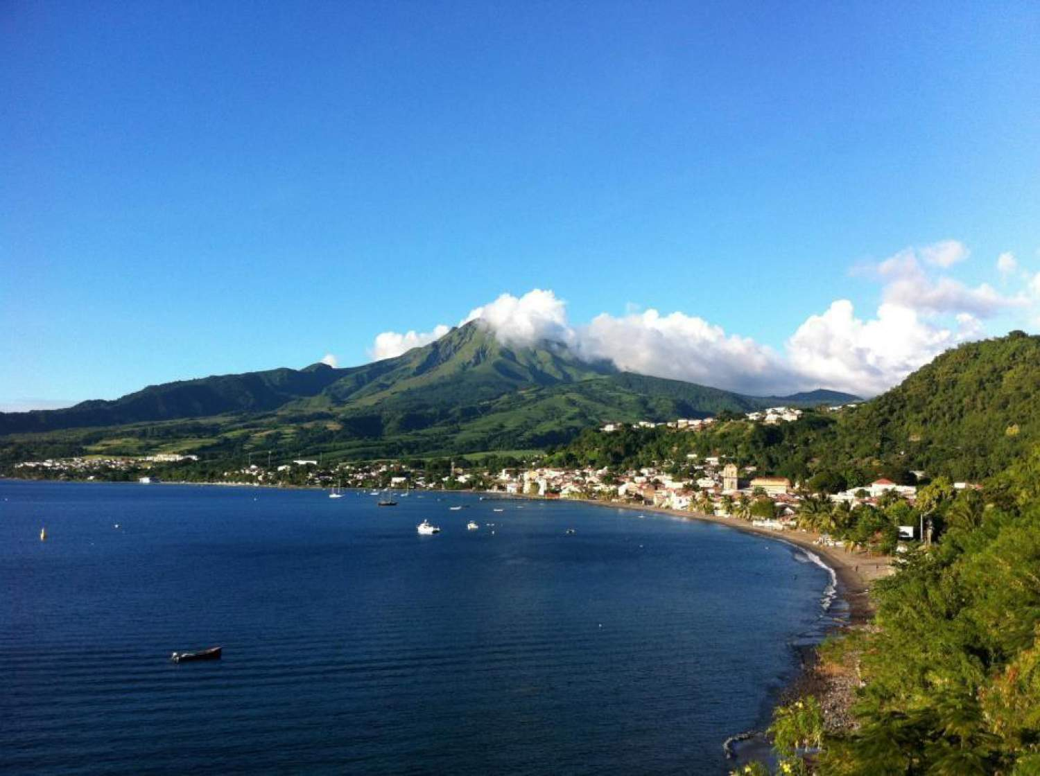 View on Martinique