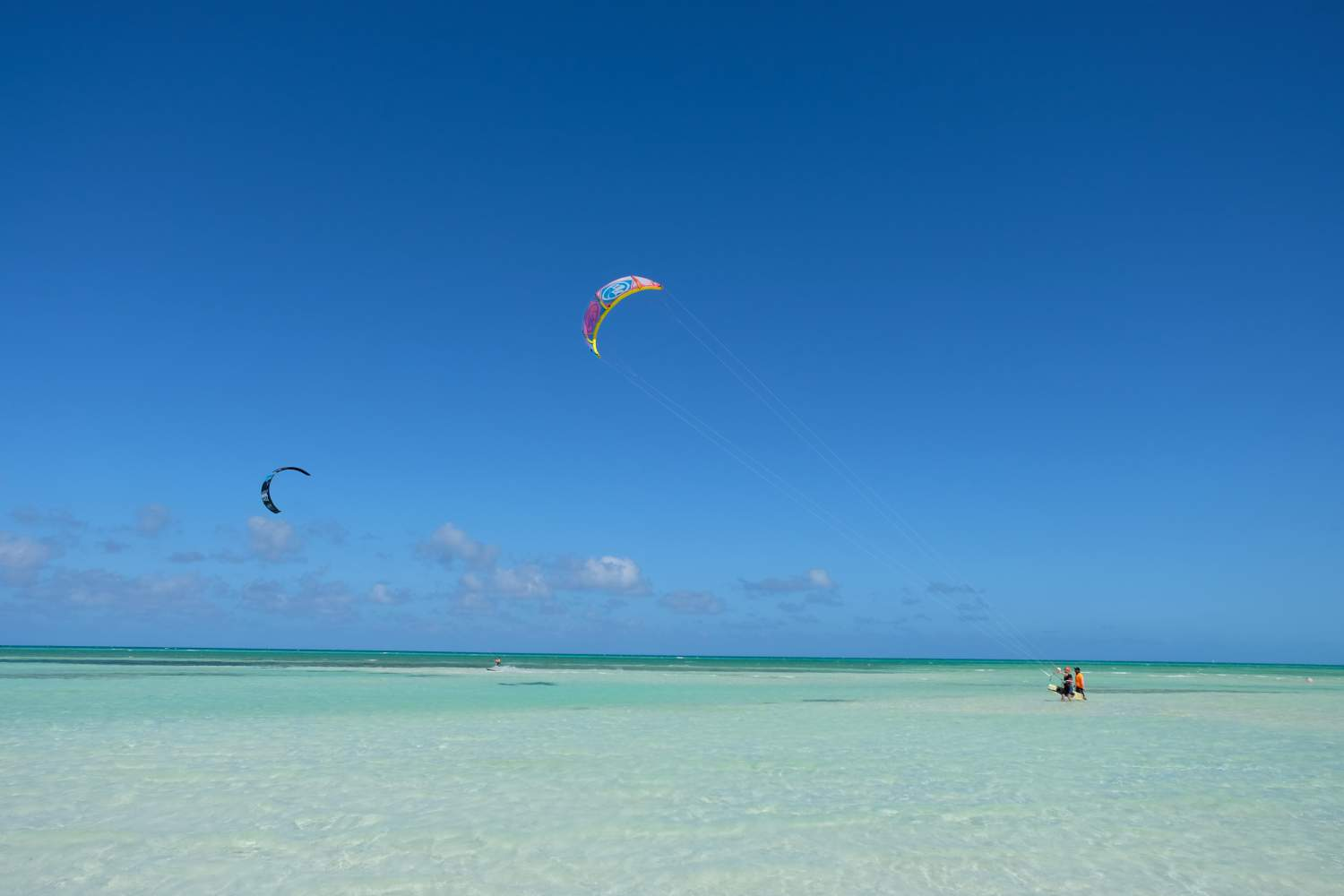 Kite surf on Cayo Guillermo's beaches