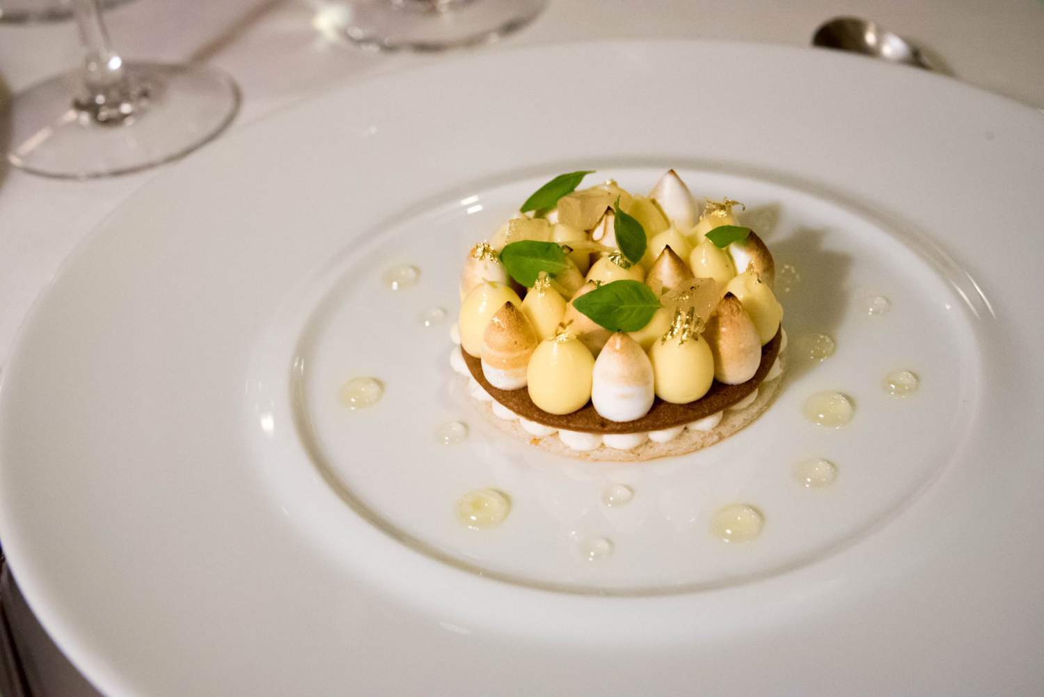Lemon pie of Le Restaurant de L'Hôtel, Paris