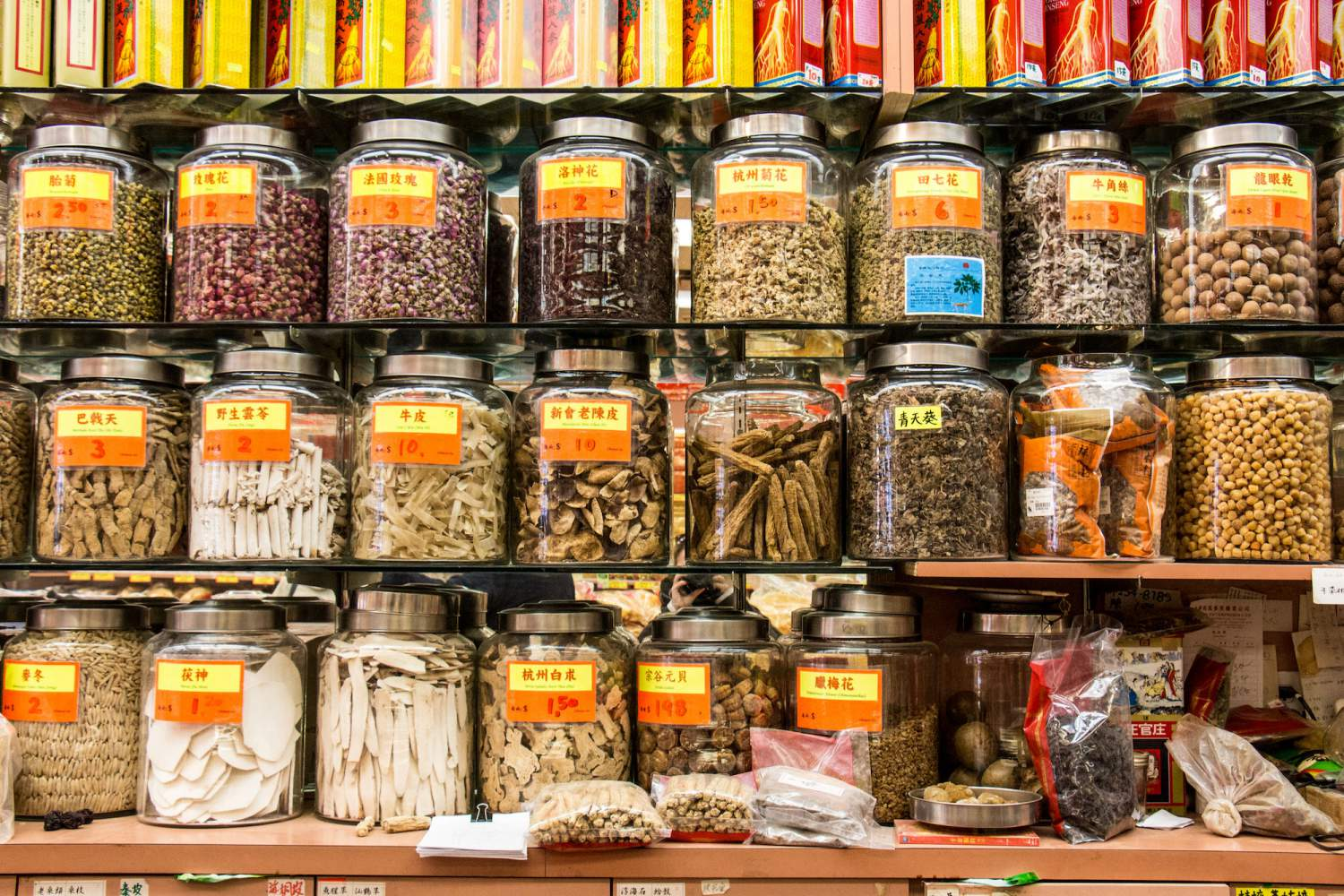 Herb store in Chinatown, Vancouver