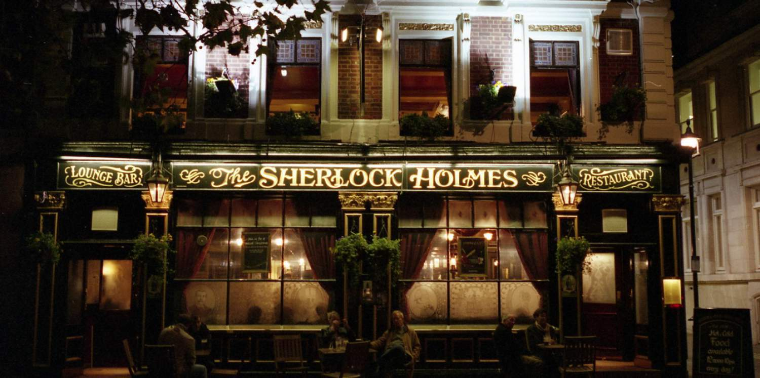 Sherlock S Pub Food Menu