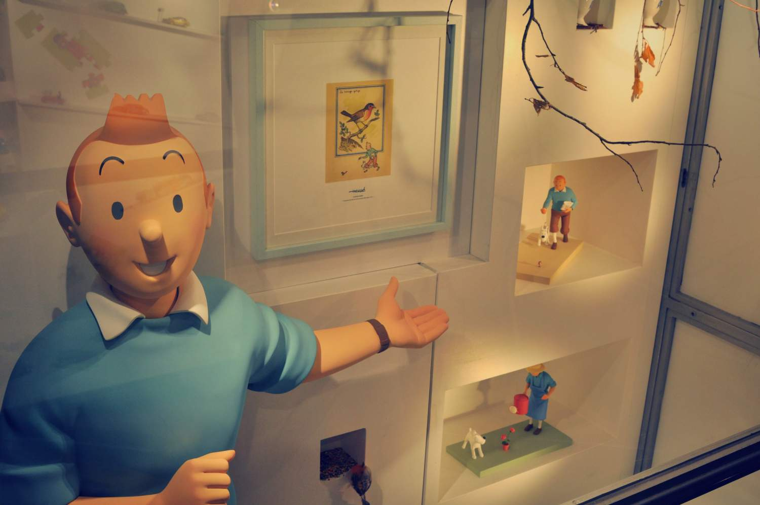 Tintin at the Museum