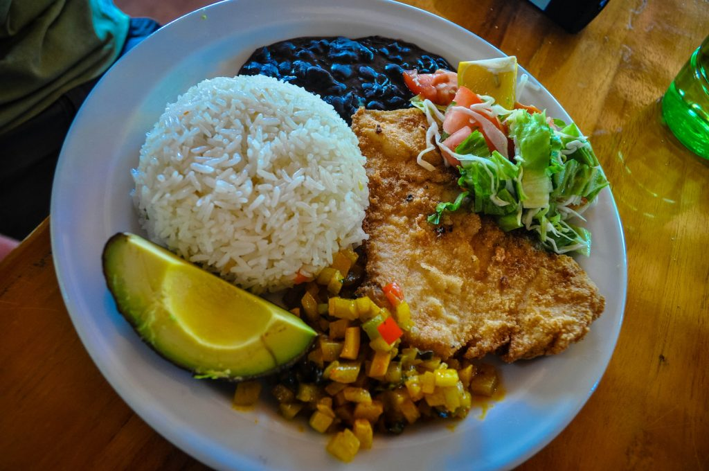 Casado Food To Try in Costa Rica