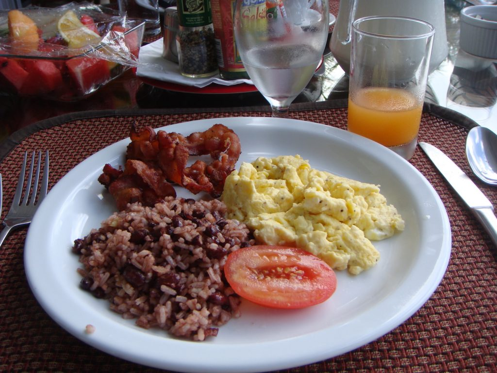 Gallo Pinto Food To Try in Costa Rica