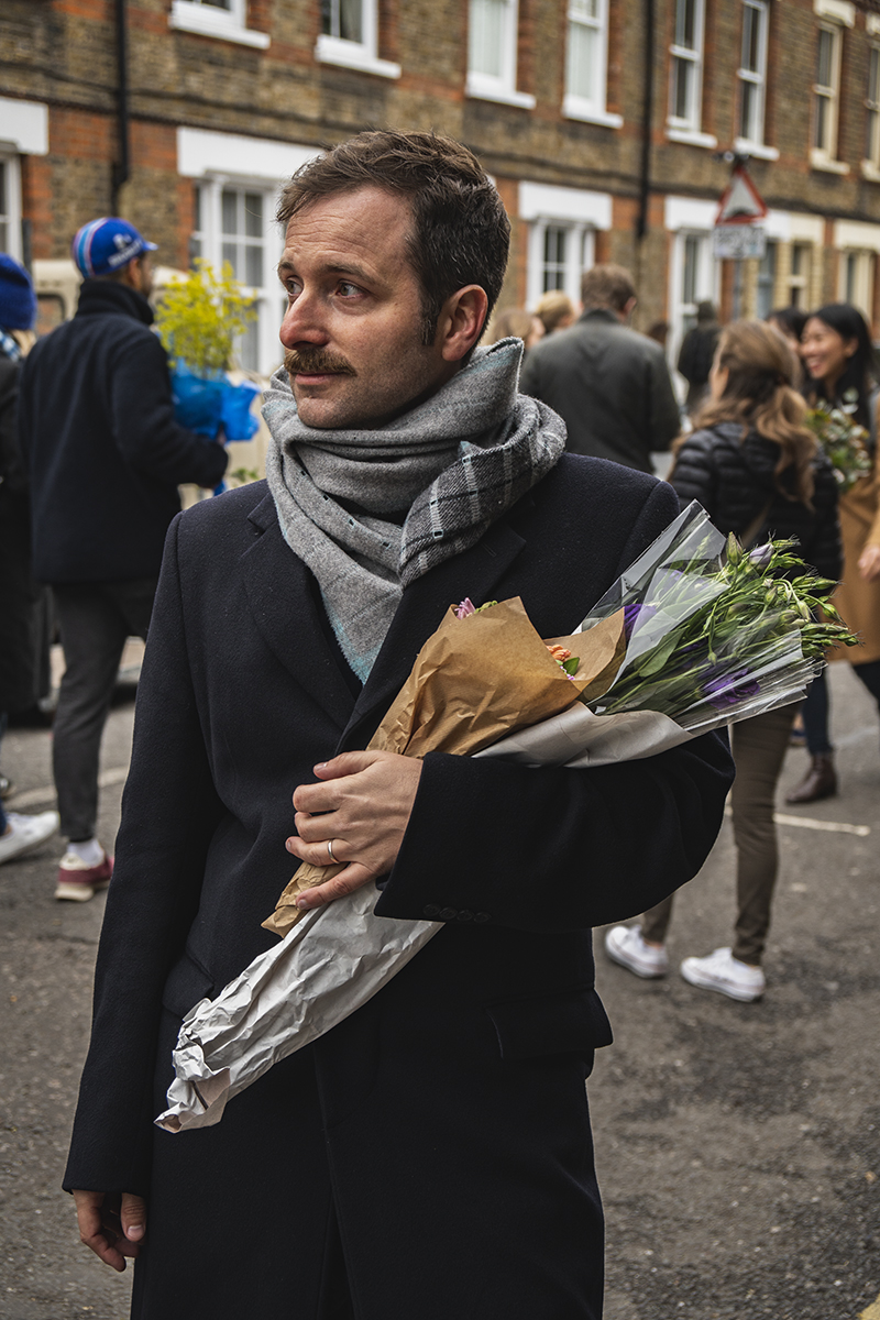 Emanuel, Sales & Services Supervisor at Transat, spends a perfect Sunday at the Columbia Road Flower Market