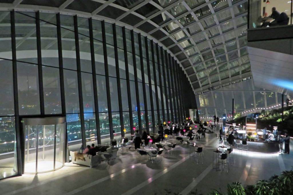 Sky Garden, $50 and less London, UK