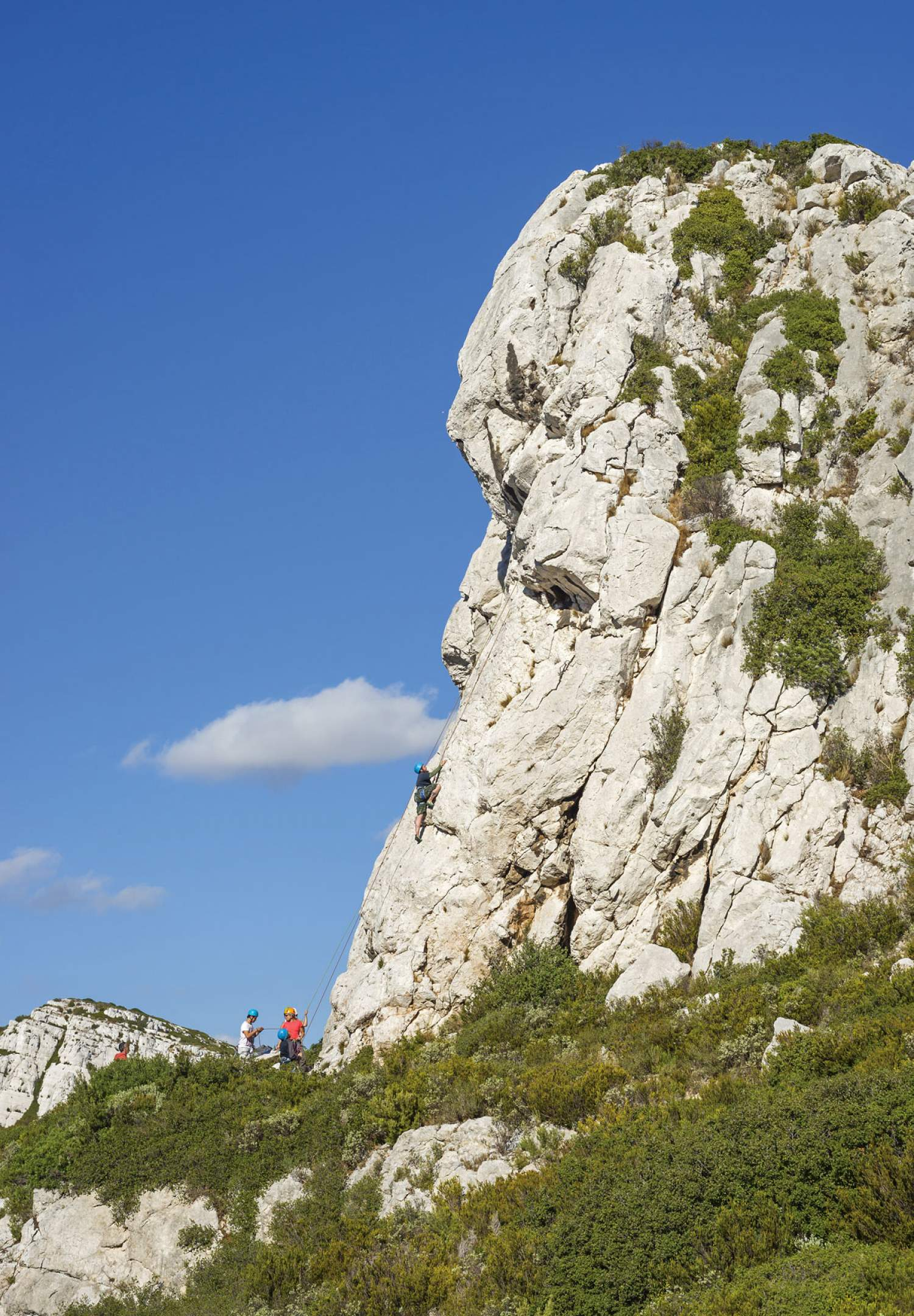 Climbing in Marseille, France