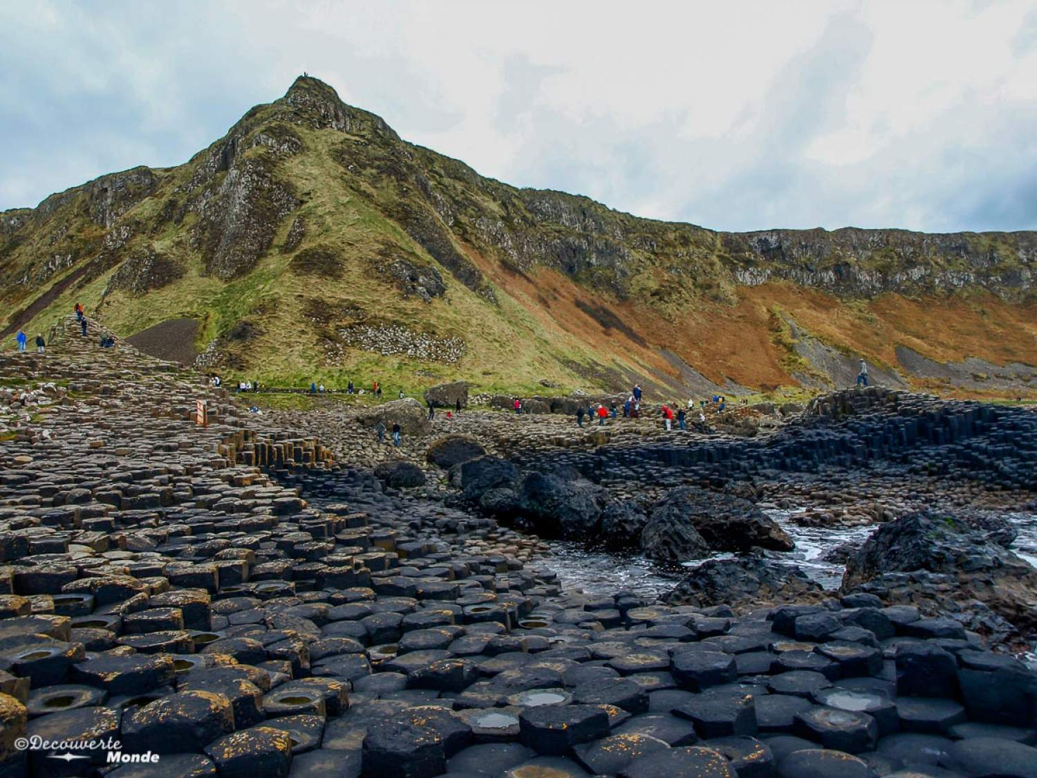 The Giant Causeway, north of Ireland